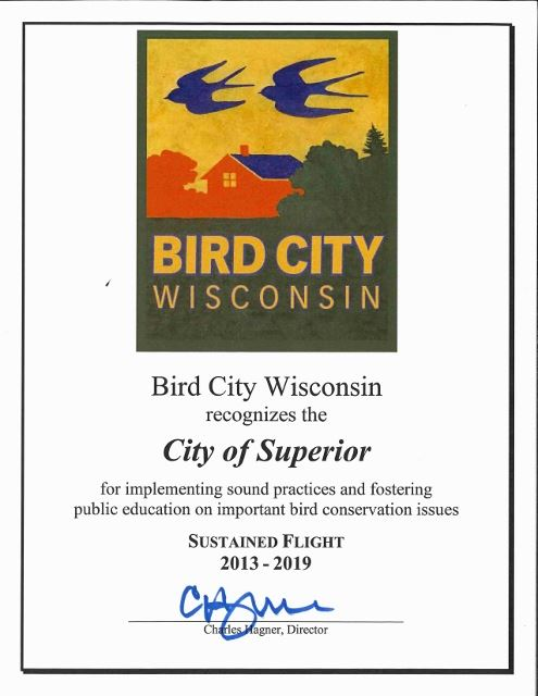 bird city 2018 certificate