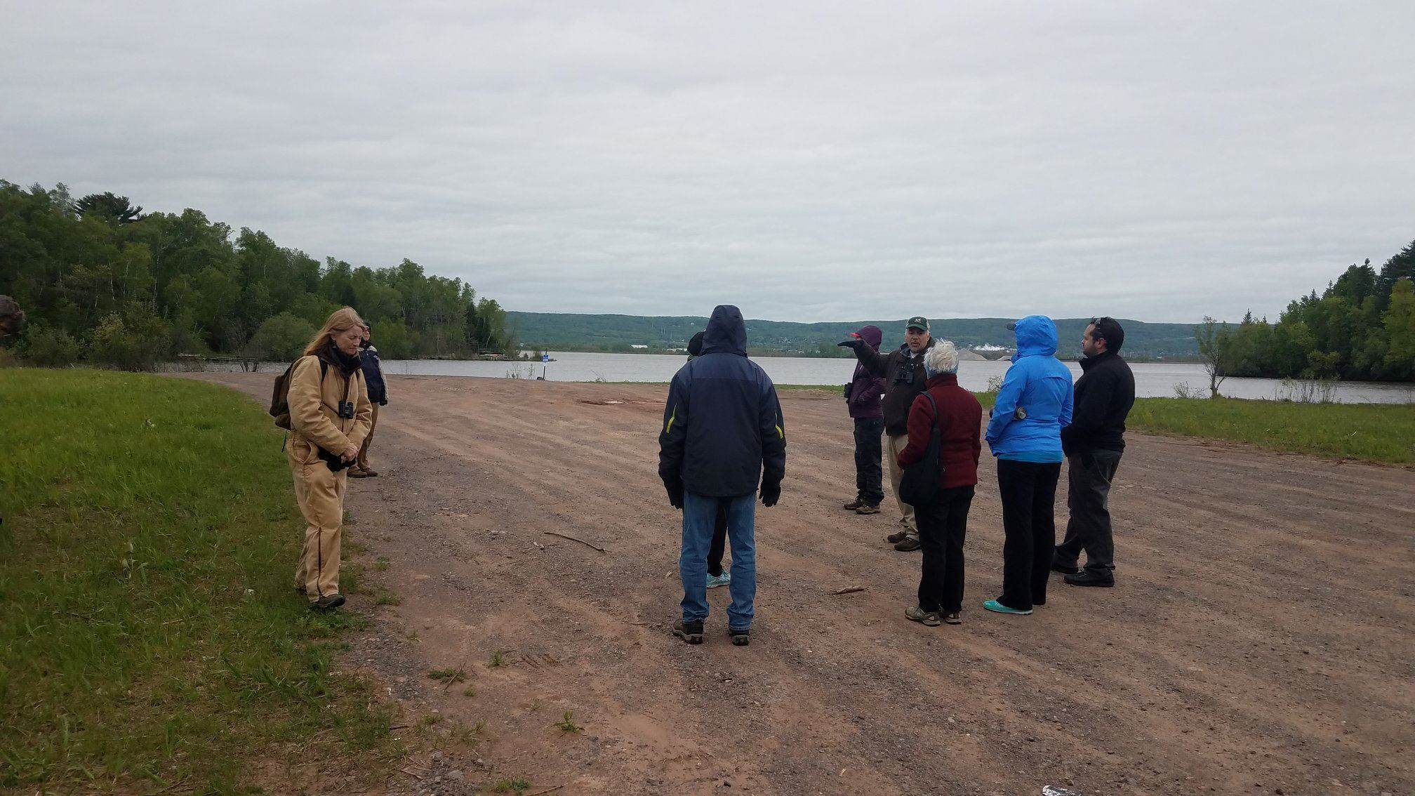 Woodstock Bay landing photo of citizens bird watching