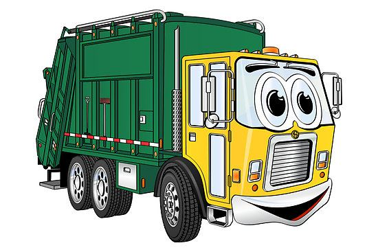garbage truck-clipart-1
