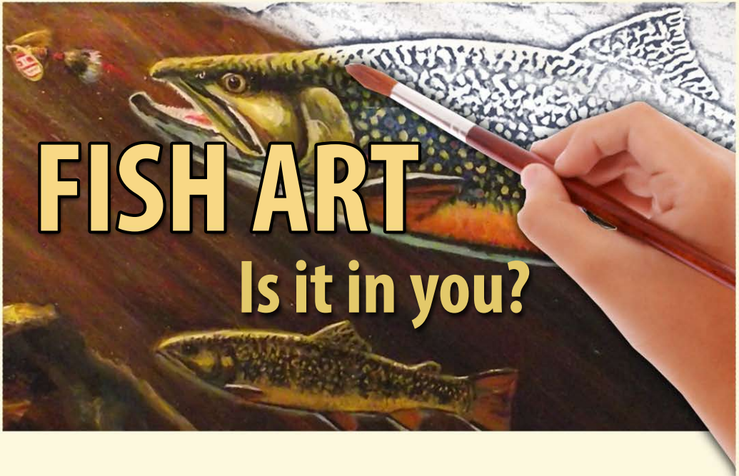 Trout Stamp Art
