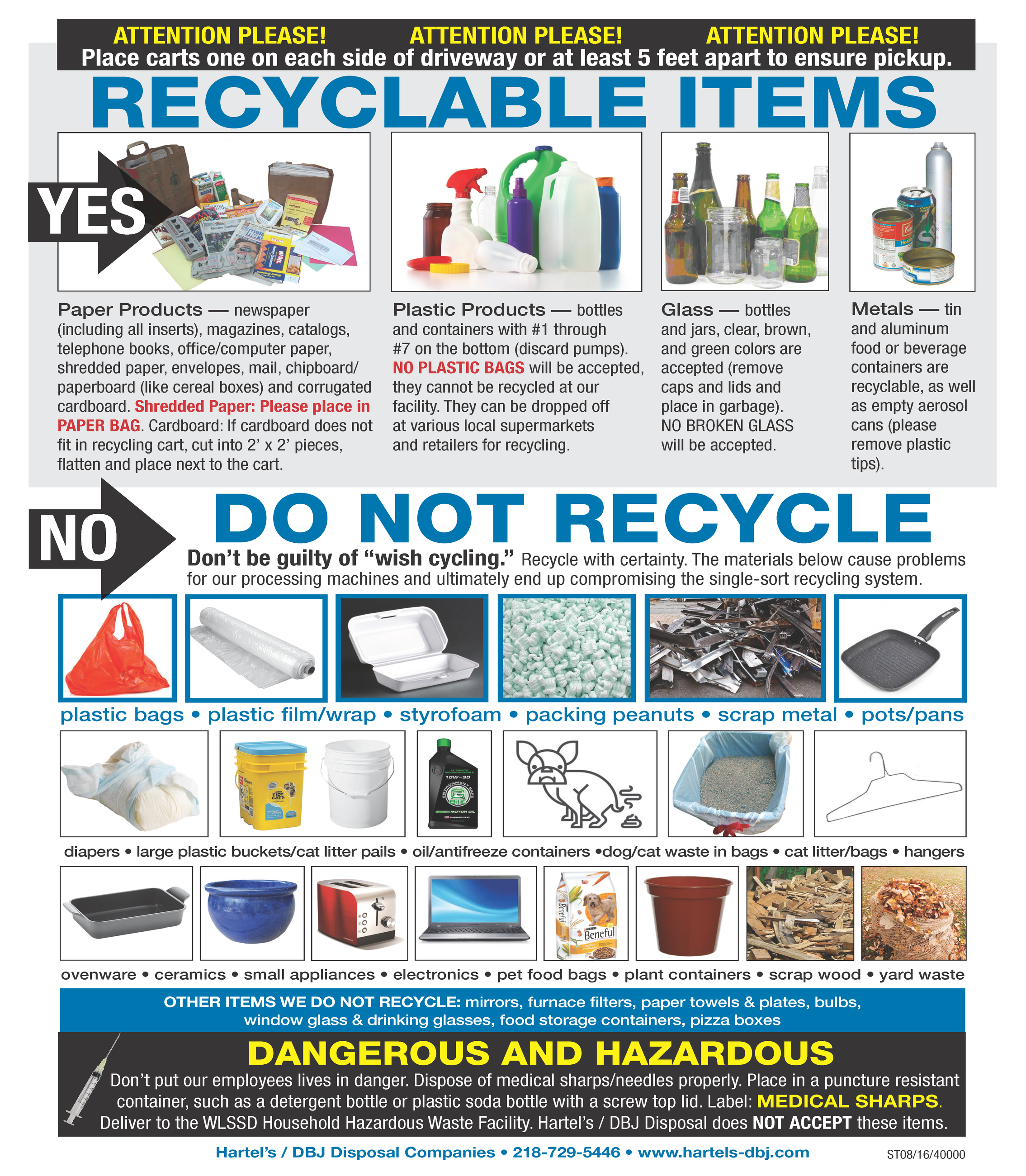 Recycling | Superior, WI - Official Website